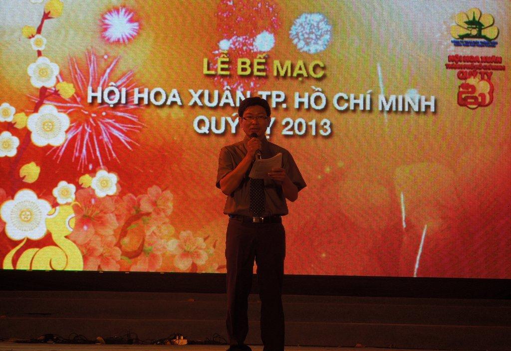 Bế mạc Hội Hoa Xuân Quý Tỵ 2013