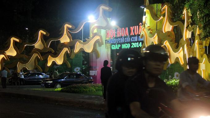 Khai mạc Hội Hoa Xuân Giáp Ngọ 2014