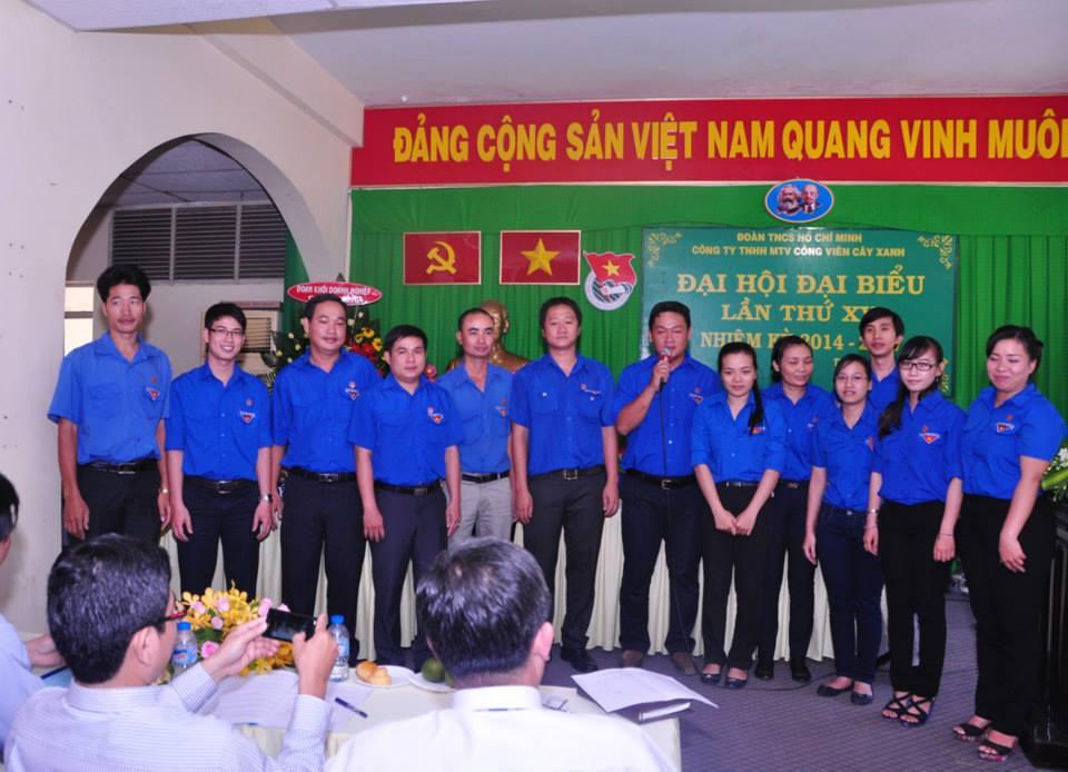 Đại hội đại biểu Đoàn thanh niên Công ty