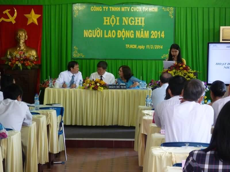 Hội nghị Người lao động Công ty năm 2014