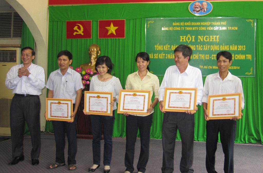 Hội nghị tổng kết, đánh giá công tác xây dựng Đảng năm 2013