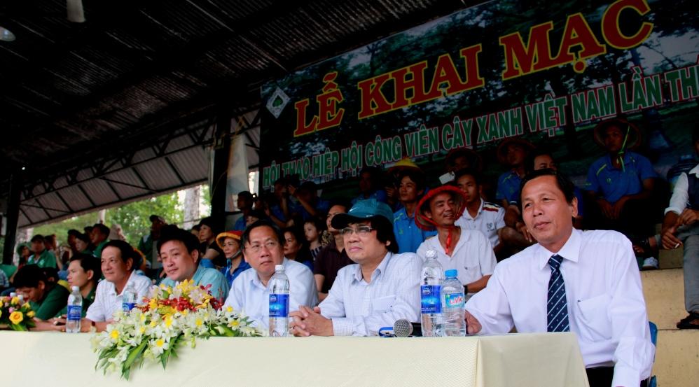 Khai mạc Hội thao Hiệp hội Công viên Cây xanh Việt Nam