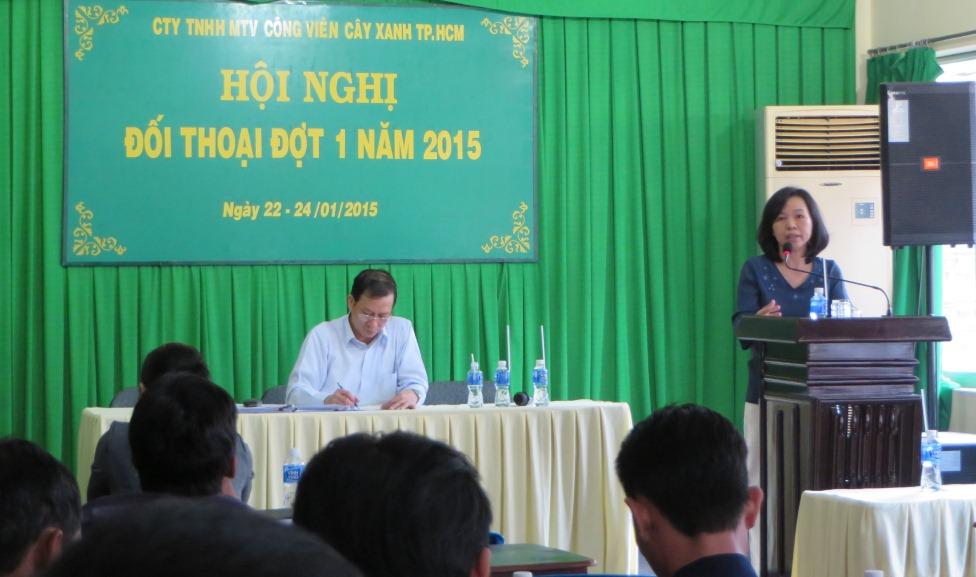Hội nghị đối thoại với người lao động đợt 1- năm 2015
