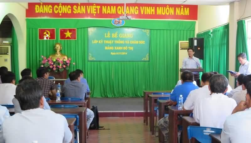 Bế giảng lớp chuyên đề