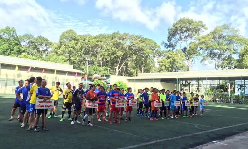 Khai mạc giải bóng đá mini truyền thống Công ty năm 2015