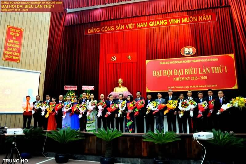Chào mừng Đại hội Đại biểu Đảng bộ Khối Doanh nghiệp TP.HCM lần thứ I, nhiệm kỳ 2015 – 2020 thành công tốt đẹp