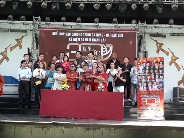 Họp báo kỷ niệm 30 thành lập Sân khấu ca nhạc Trống Đồng