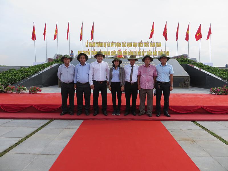 Khánh thành công trình Khu truyền thống cách mạng Cuộc tổng tiến công và nổi dậy Xuân Mậu Thân 1968