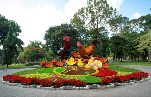 4.000 kỳ hoa dị thảo ở hội hoa xuân lớn nhất TP HCM