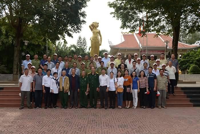 Tổ chức về nguồn tại Bình Thuận nhân kỷ niệm 30 năm Ngày thành lập Hội CCB Việt Nam