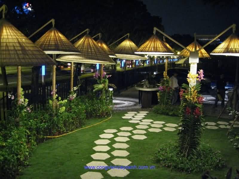 Một số hình ảnh về Triển lãm Nghệ thuật vườn cảnh quốc tế Đài Loan 2010