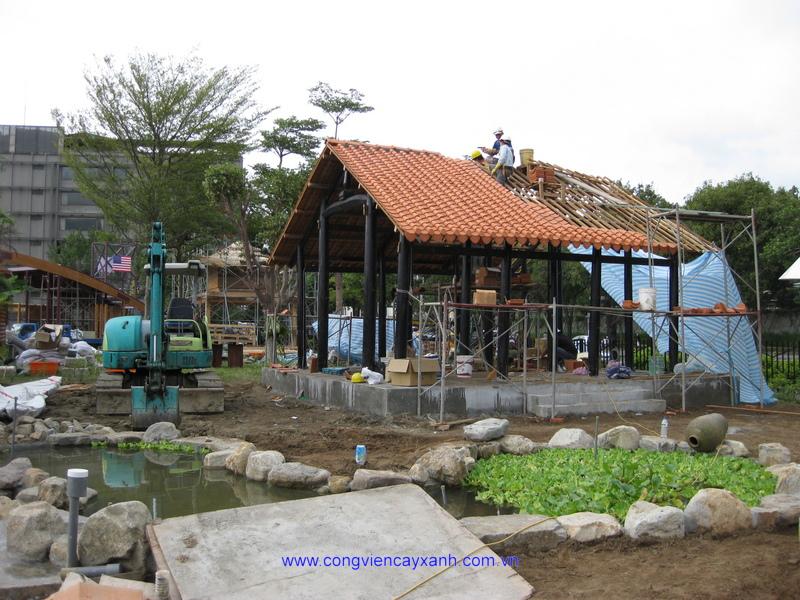 Công ty tham gia Triển lãm Nghệ thuật Vườn cảnh quốc tế 2010 tại Đài Bắc.