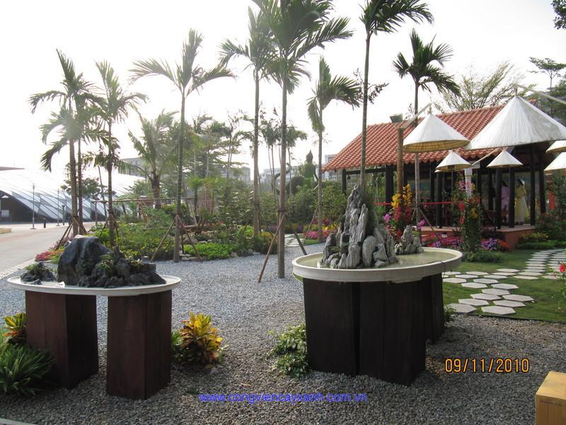 Hình ảnh mới cập nhật tại Triển lãm Nghệ thuật vườn cảnh quốc tế Đài Loan 2010