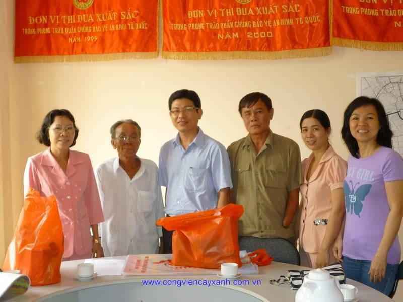 Thăm tặng quà thương binh nhân dịp Tết Tân Mão 2011